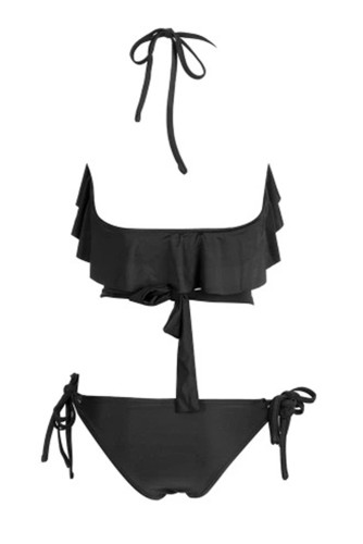Sexy Black Diamond Bikini Set LC412235-2