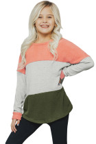 Orange The Callie Colorblock Sweater TZ25105-14