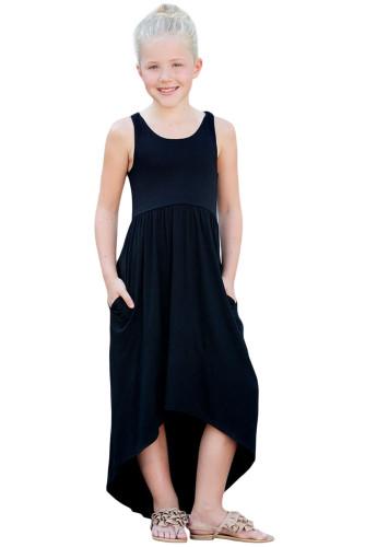 Black Happy Together Kid Dress TZ61050-2