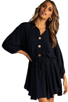 Sunday Afternoon Black Dress LC220802-2