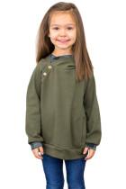 Green Toddlers Double Hooded Sweatshirt TZ25110-9
