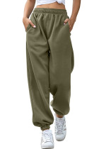 Olive Casual Loose High Waist Jogger Sweatpants LC263002-9
