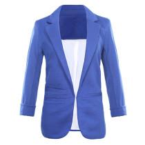 Blue 3/4 Sleeve Fashion Lady Suit TE10007-5