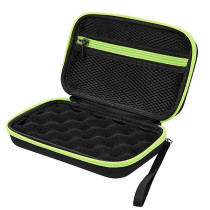 Black Green Storage Box of Forehead Thermometer H00262-9