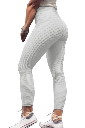 White Perfect Shape Leggings LC26080-1