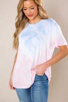 Gradient Pink Tie Dye T-shirt LC253589-10