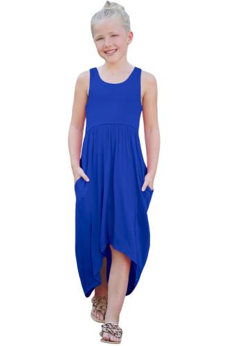 Blue Happy Together Kid Dress TZ61050-5