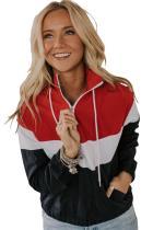 Red Ruston Combo Jacket LC85346-3