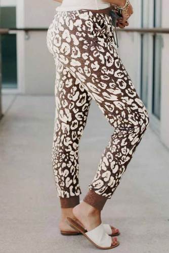 Casual Leopard Lounge Pants LC77582-20