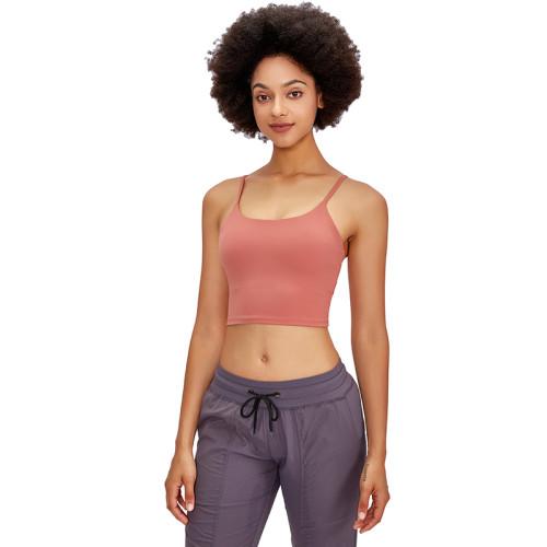 Boyne Red Crop Sport Yoga Bra Top TQE16014-51