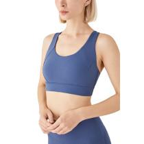 Ink Blue High Quality Fitness Sports Yoga bra TQE67036-81