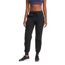 Black Drawstring Quick Dry Pocketed Sports Pant TQE51045-2