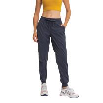 Midnight Blue Drawstring Quick Dry Pocketed Sports Pant TQE51045-97