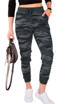 Gray Camouflage Drawstring Joggers LC771011-11