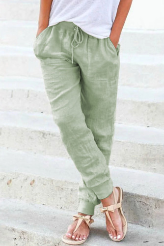 Pocketed Drawstring Joggers LC771153-11