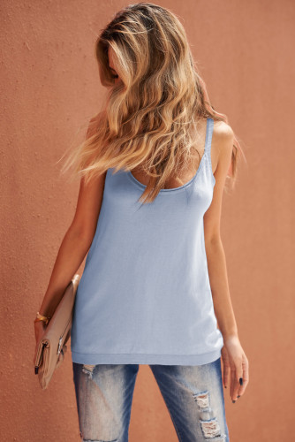 Knitted Tank Top LC256620-11