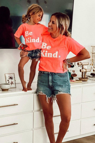 Kids' Be Kind Print Family Matching Graphic T-shirt TZ25210-10