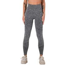 Dark Gray Seamless Knit Yoga Sports Pant TQE780188-26