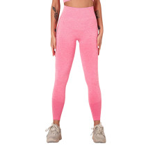 Peach Seamless Knit Yoga Sports Pant TQE780188-104