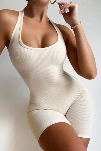 Apricot Short Sport Jumpsuit LC642684-18