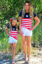Kid's Family Matching Independence Day July 4th Tee TZ25359-3