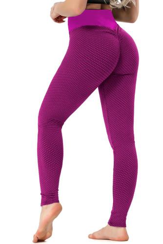 Rose High Waisted Butt Lifting Yoga Gym Leggings LC263637-6