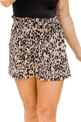 Animal Print Casual Shorts LC771881-20