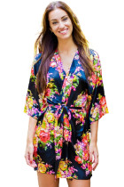 Floral Bundles Robe with Belt LC453085-2