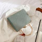 Light Green Retro Sparkling Messenger Evening Bag H21294-28