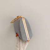 Silvery Retro Sparkling Messenger Evening Bag H21294-13