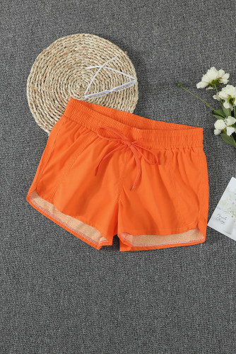 Orange Thermochromic Sports Casual Shorts LC73678-14