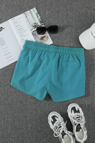 Sky Blue Thermochromic Sports Casual Shorts LC73678-4