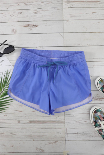 Blue Thermochromic Sports Casual Shorts LC73678-5