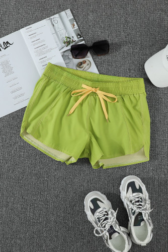 Green Thermochromic Sports Casual Shorts LC73678-9