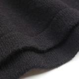 White Black Splice Leopard Soft Warm Sweater TQK271339-1