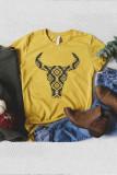 Aztec Buffalo Graphic Tee LC25212515-7