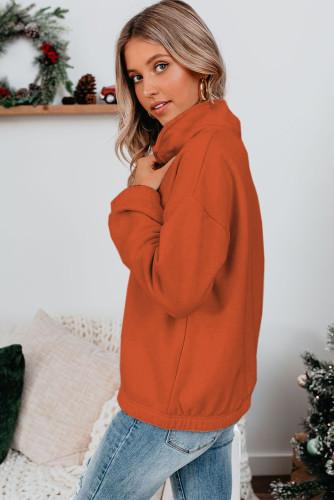 Zipped Collar Sweatshirt LC2537889-17