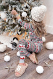 Christmas Pattern Hoodie and Joggers Loungewear LC4512113-3
