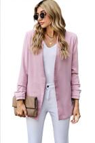 Pink Uptown Girl Pocketed Blazer LC852059-10