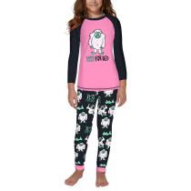 Christmas YETI FOR BED Print Kids Loungewear TQK730416-12