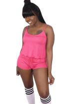 Peach Slip Top & Short Pants Set SDD9227