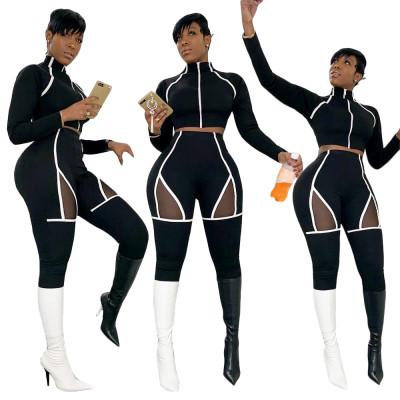 Wholesale Slim Bodycon Women Track Suits SN3496
