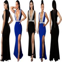 Evening Party Sleeveless Long Dress LA3065