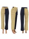 Crop Top & Patched Stripes Pants HG5309