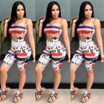 Newest Suits Crop Top Condole Belt Bodycon Pants CY1092