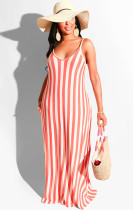 Pink Zebra Two Tones Strapless Shift Tank Dress SMR9615