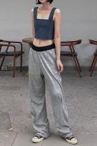 Sexy Modest Mid Waist Pants