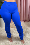 Casual tight solid color pants H1527