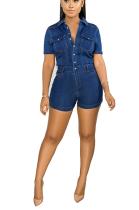 Casual sexy slim jean dress JLX6028