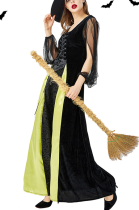 Halloween Witch Costume Cosplay Long Dress PS9117